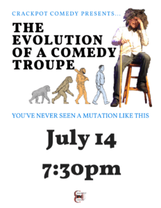The Evolution of a Comedy Troupe